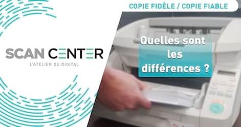 Quelles sont les différences entre une copie fidèle et une copie fiable ?